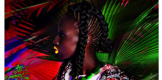 africa now galeries lafayette art music mode afrique Une