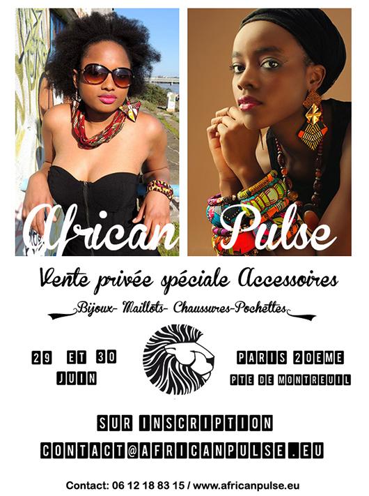 african_pulse_vente_privee_29_30_juin African Pulse vous invite à sa vente privée Spéciale Accessoires les 29 et 30 juin