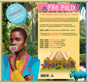 afropolis timodelle day