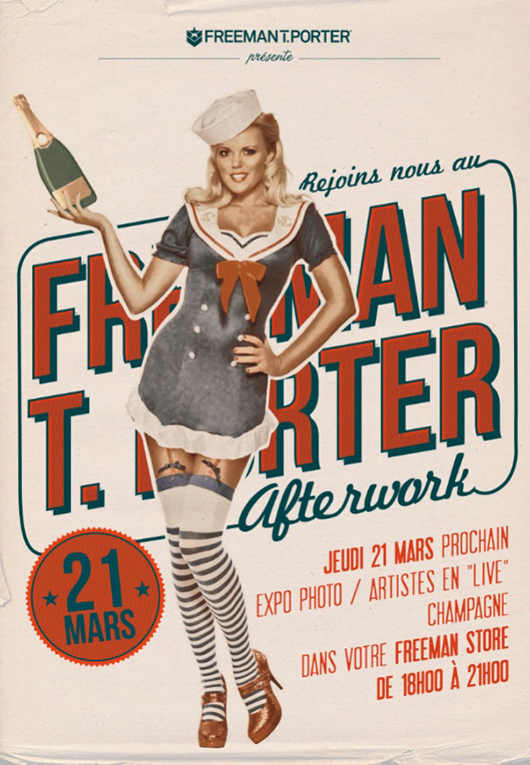 afterwork_freeman Apéro Pop & After Work FREEMAN T. PORTER