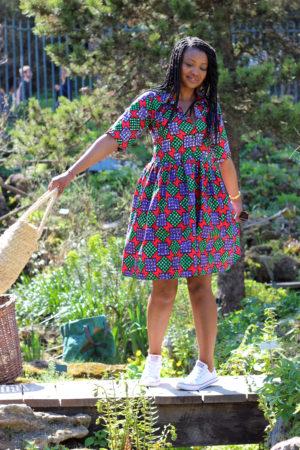 aissata in wonderland robe wax turbanista paris 07