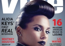 Alicia Keys en couv' de VIBE Global Issue