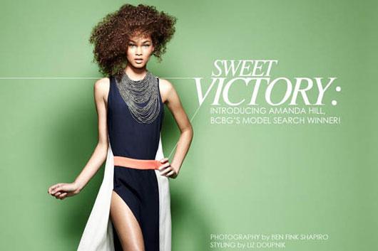 amanda-hill-bcbg-4 Sweet Victory : Amanda Hill gagnante du BCBG Model Search