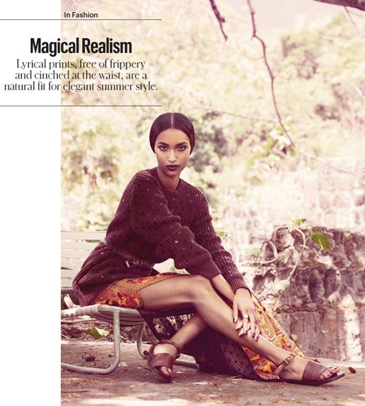 Anais Mali par Benjamin Alexander Huseby pour le NY Times Style Magazine