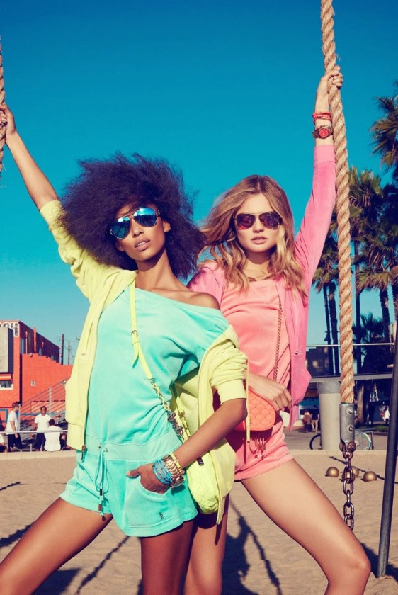 anais-mali-juicy-couture-venice-beach-04-e1390336154530 Anais Mali & Magdalena Frackowiak pour Juicy Couture Printemps 2014