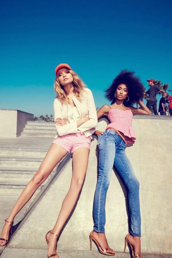 anais-mali-juicy-couture-venice-beach-09-e1390336399146 Anais Mali & Magdalena Frackowiak pour Juicy Couture Printemps 2014