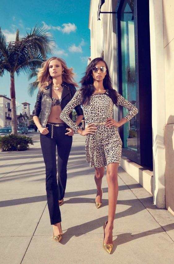 anais-mali-juicy-couture-venice-beach-10-e1390336421619 Anais Mali & Magdalena Frackowiak pour Juicy Couture Printemps 2014