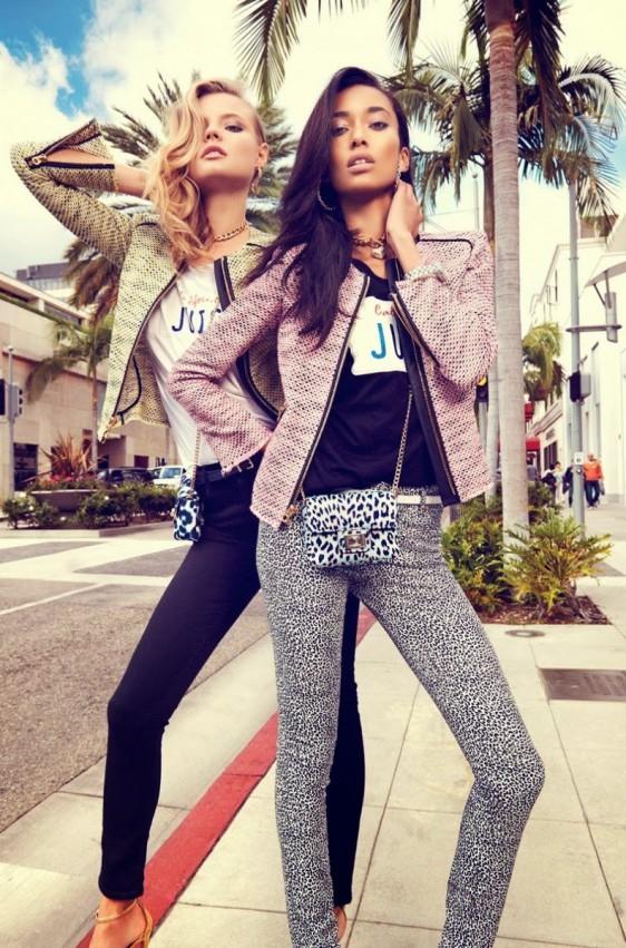anais-mali-juicy-couture-venice-beach-11-e1390336433362 Anais Mali & Magdalena Frackowiak pour Juicy Couture Printemps 2014