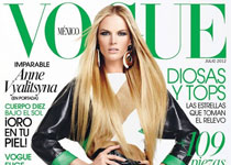 Anne Vyalitsyna par David Roemer pour Vogue Mexico