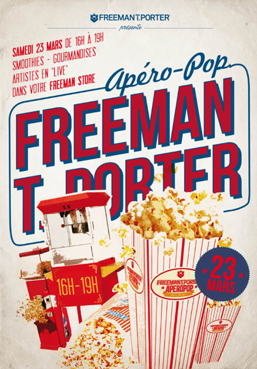 aperopop_freeaman Apéro Pop & After Work FREEMAN T. PORTER