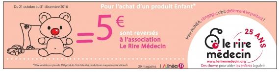 association Le Rire Médecin alinea enfants malades