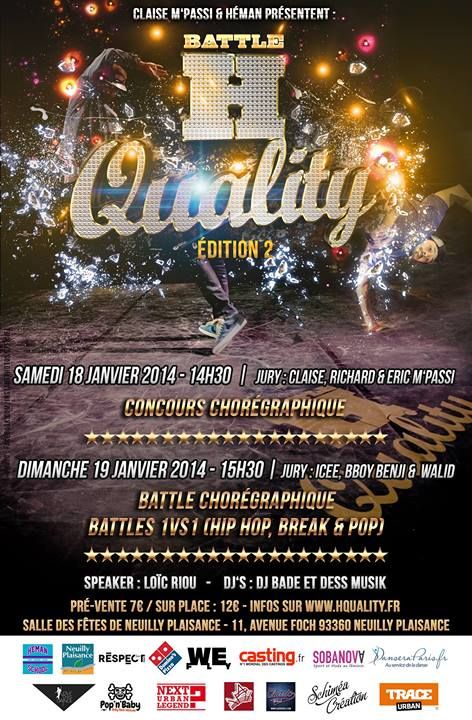 battle h quality flyer