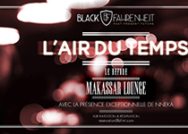 "Before ""L'Air du Temps"" par Black Fahrenheit au Makassar Lounge"