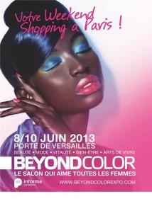 beyond color timodelle affiche