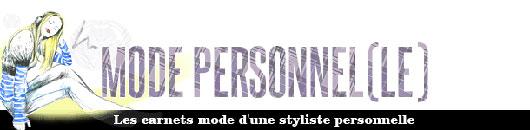 blog mode personnelle