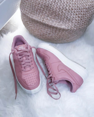 bon plan shopping sneakers courir air force one rose reduction 2019