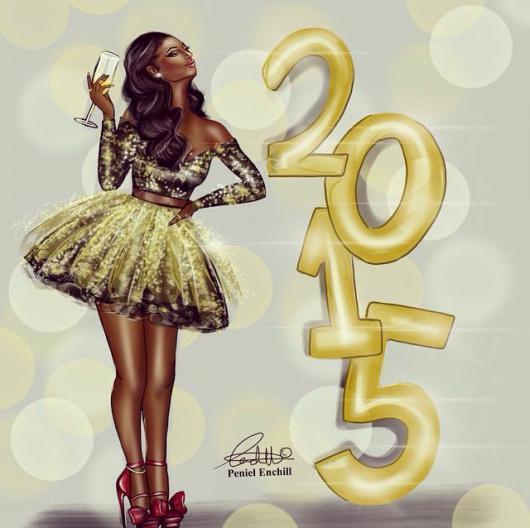bonne_annee_illustration_peniel_enchill My Best Wishes for 2015