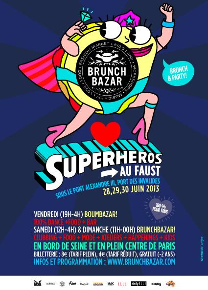 brunch-bazar-2013 Le BrunchBazar est de retour les 28, 29 et 30 juin à Paris !