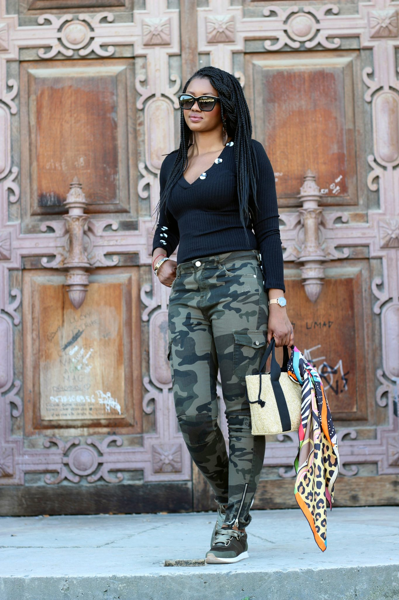 camouflage pantalon cargo militaire camo in the city 155