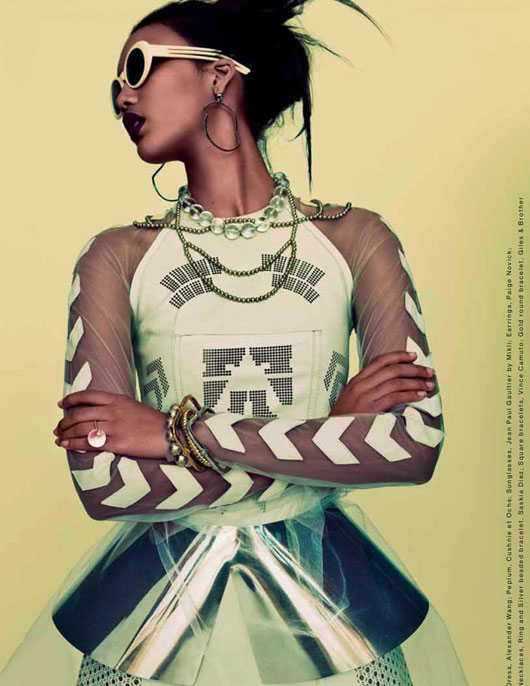 chrishell8 Chrishell Stubbs par Bon Duke pour The Block Magazine