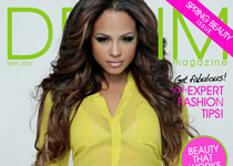 Christina Milian en couv' de Denim Magazine : « The Spring Beauty Issue »