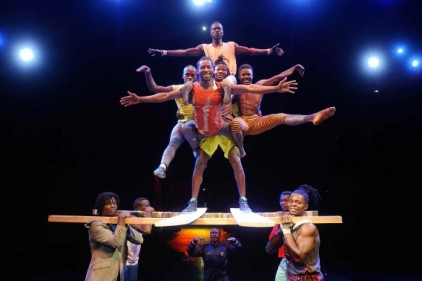 cirque mandingue guinee afro cirkus cabaret sauvage