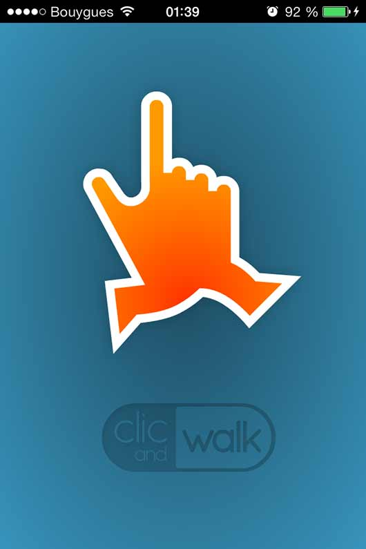 clic and walk iphone