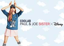Collaboration Paul & Joe Sister x Disney