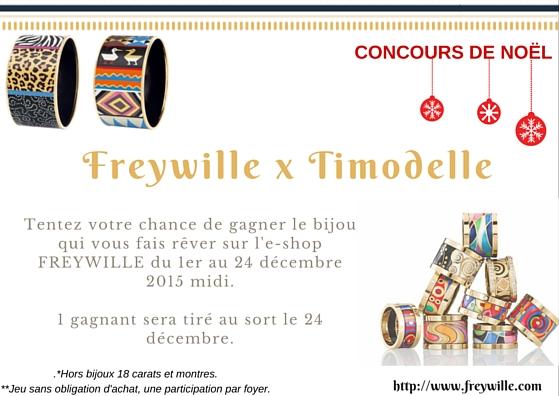 concours-bijou-freywille-noel-decembre-2015 Concours : Gagnez un bijou FREYWILLE pour Noël