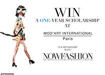 Concours NowFashion & Mod'Art International : Devenez le Designer Parisien 2015