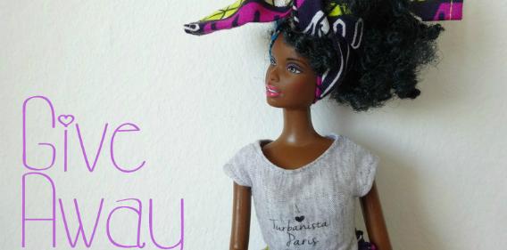 concours turbanista paris my black doll Une