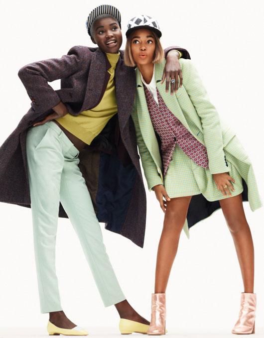 elle-france-simon-burstall-02 Ataui Deng & Marihenny Rivera par Simon Burstall pour Elle France