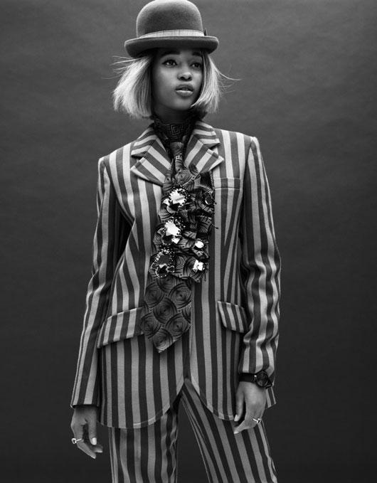 elle-france-simon-burstall-04 Ataui Deng & Marihenny Rivera par Simon Burstall pour Elle France