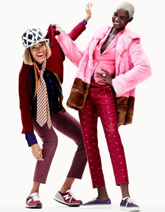 elle-france-simon-burstall-05 Ataui Deng & Marihenny Rivera par Simon Burstall pour Elle France