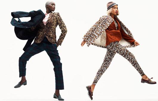 elle-france-simon-burstall-06 Ataui Deng & Marihenny Rivera par Simon Burstall pour Elle France