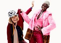 Ataui Deng & Marihenny Rivera par Simon Burstall pour Elle France