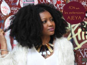 extensions cheveux crepus afro AJEYA natural hair
