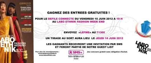 faubourg_labo 1er défilé connecté au Labo Ethnik Fashion Week-end