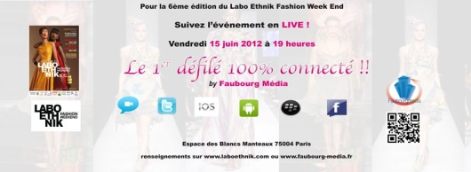 faubourg_labo_ethnik 1er défilé connecté au Labo Ethnik Fashion Week-end
