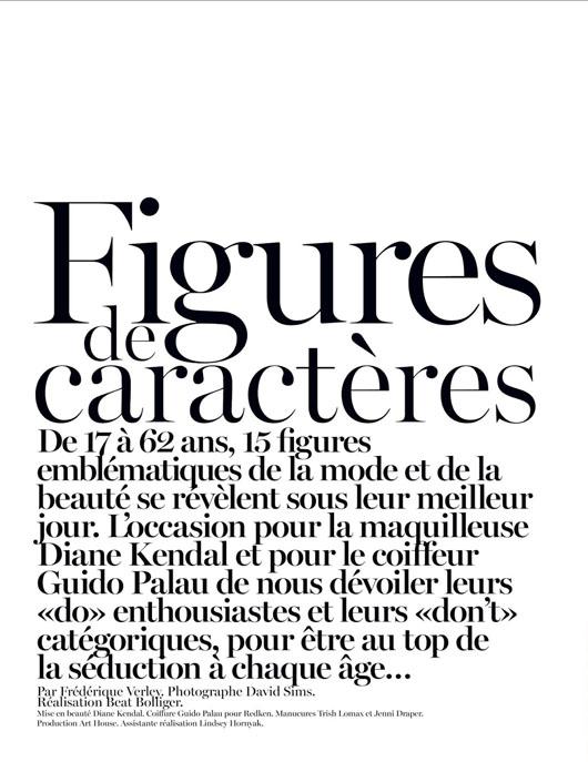 figure-caractere-vogue-paris-02 Anaïs Mali par David Sims pour Vogue Paris, Novembre 2012