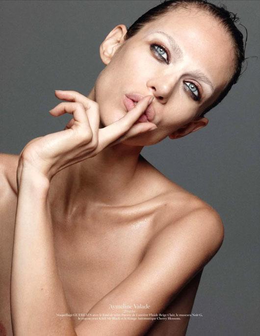 figure-caractere-vogue-paris-06 Anaïs Mali par David Sims pour Vogue Paris, Novembre 2012