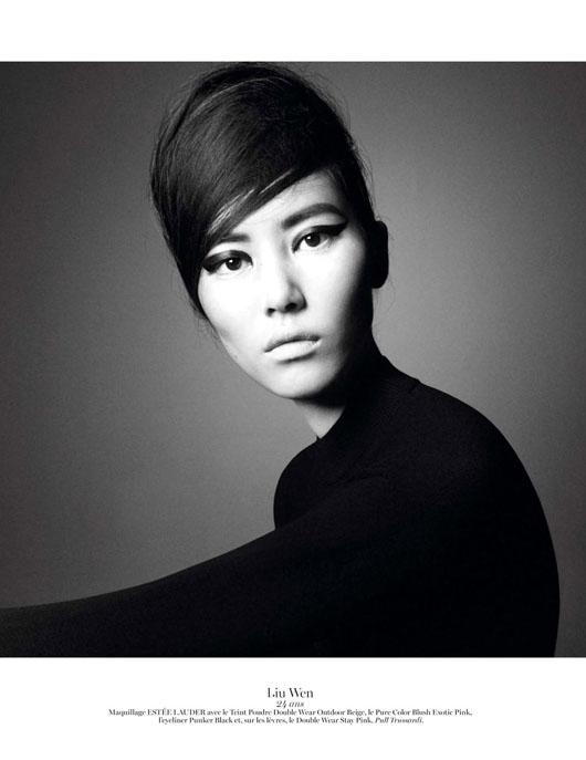 figure-caractere-vogue-paris-13 Anaïs Mali par David Sims pour Vogue Paris, Novembre 2012