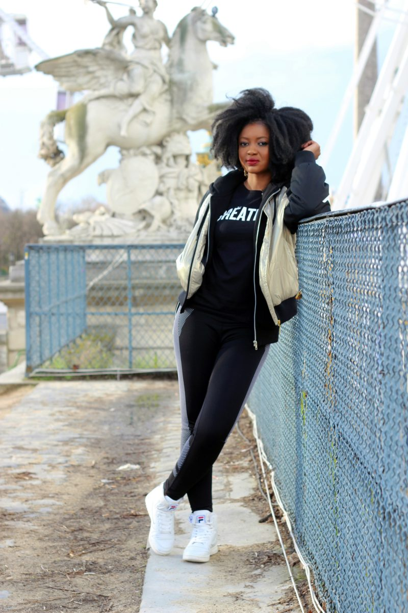 fila sneakers jacket outfit sunday chill streetwear