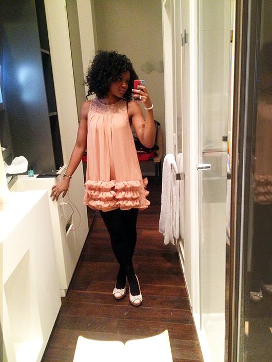 forever  Princess Dress Aissata Timodelle