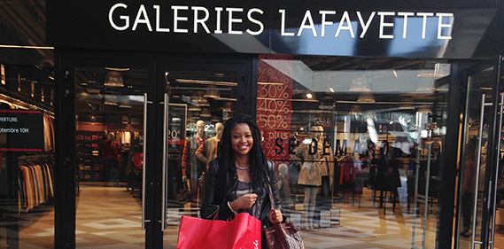 galeries lafayette outlet one nation Une
