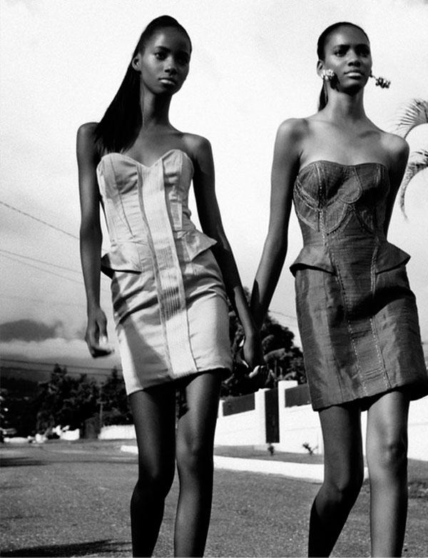 gordon_williams_04 Kim Gordon & Tami Williams pour Papercut Magazine par Dewayne Weise