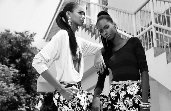 gordon_williams_05 Kim Gordon & Tami Williams pour Papercut Magazine par Dewayne Weise