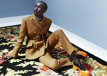"""Grace Bol pour """"Dons Elegant Pantsuits"""" par Elle Netherlands"""