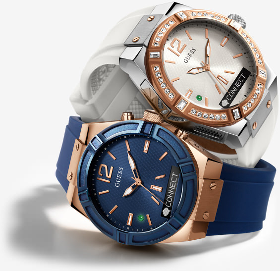 guess-connect-watch-01 Guess Connect, la montre connectée Geek & Chic