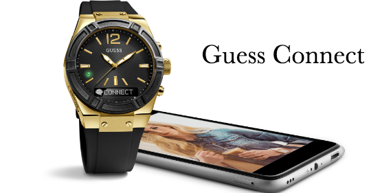 guess connect watch Une